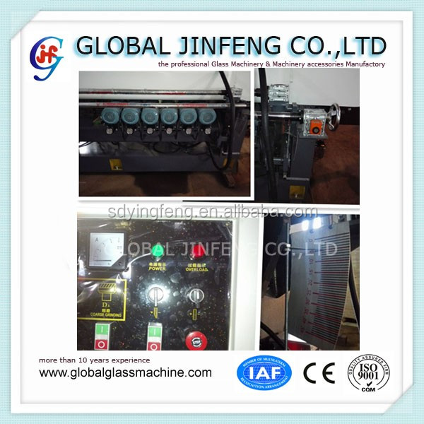 JFB-261 9 motor Electric Glass beveling edging processing machine manufactory with low price