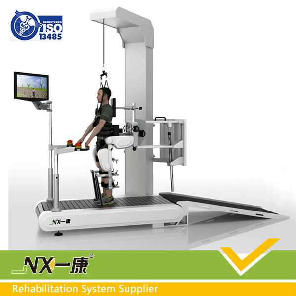 Intelligent feedback medical knee rehabilitation equipment / Gait training and evaluation system for hospital use