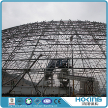 Dome Steel Space Frame Structure Roof System Building