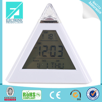Fupu cool digital clocks transparent lcd clock display