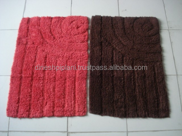 cotton bath mat stock lot