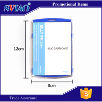 colorful plastic ID card holder, IC card holder, card case