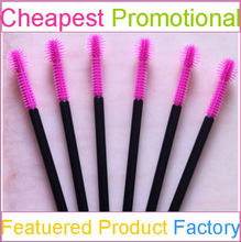 Disposable Pink Mascara Brush with Eyelash Mascara Wand Brush