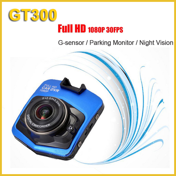 2.4 inch LCD full hd car dvr gt300 1080p manual car camera with night vision g- sensor parking monitor hd dvr camcorder