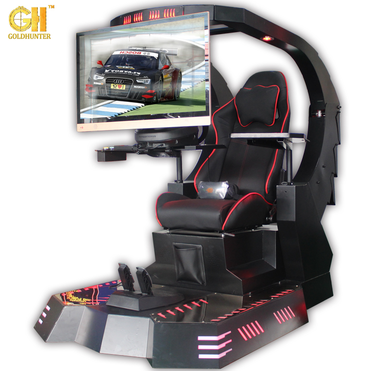 2017 Newest Virtual Reality Car Racing Machine Crazy VR Racer Simulator Racing Car Game Machine