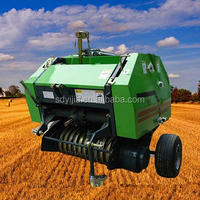 Hot sale high quality hay round bundling machine with CE ISO certificate