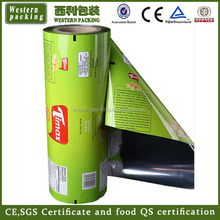 food packaging metalized opp film / food foil laminated packing film