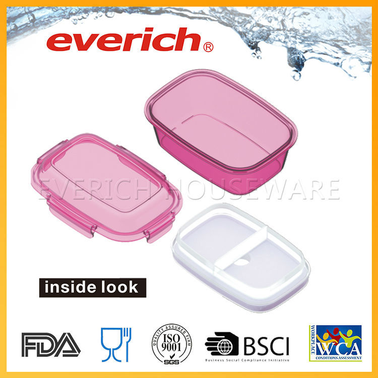 Wholesale Compartment Plastic Container Food Packaging For Pickle