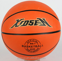Xidsen,Qianxi Rubber Orange Basketball size 7