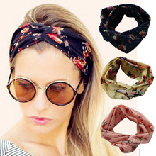 2017 Fashion Top Quality Women Elastic Stretch Plain Rose Flower Style <strong>Hair</strong> Band Yoga Headband HairBand <strong>Hair</strong> <strong>Accessories</strong>