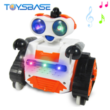 2.4G Musical Intelligent Balance RC Dancing Robot With Light Smart Robot Toy