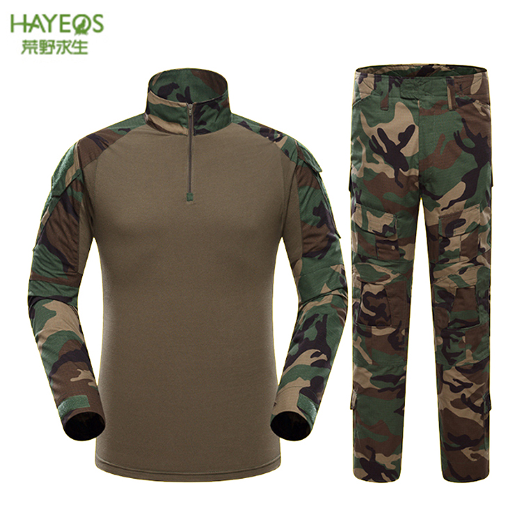 Hunting clothes camouflage men outdoor uniform navy