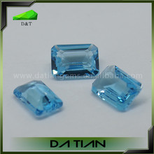 High Quality Natural Blue Aquamarine Loose Gemstone for Jewelry