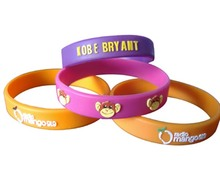 popular Rubber event wristband | Wonderful event wristband | promotional Customized silicone event wrist band
