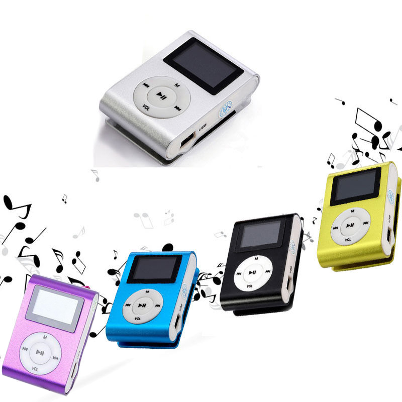Portable Sport Clip mini LCD MP3 Music <strong>Player</strong> With Micro TF/SD Card Slot