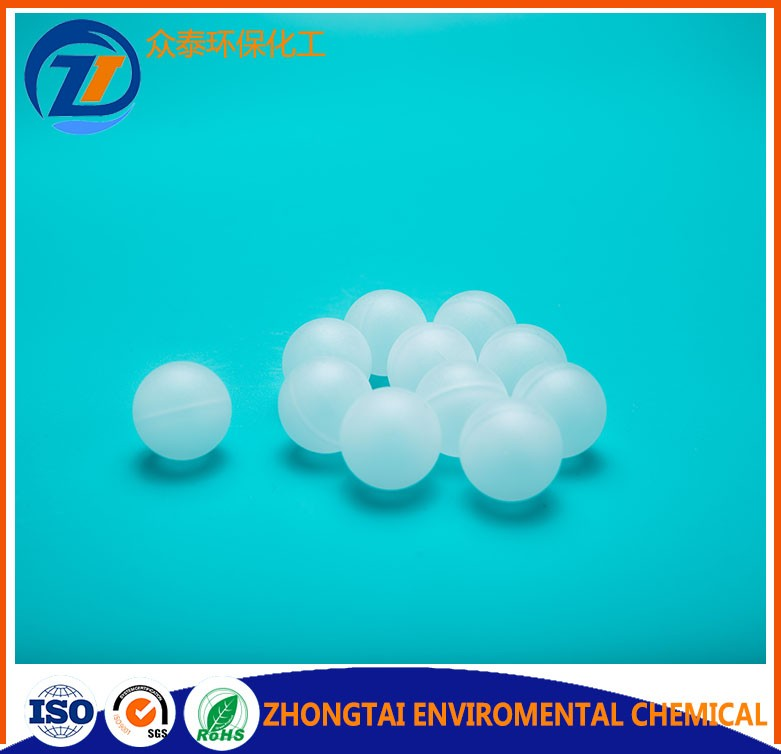PP PVC PE 10mm hollow plastic balls for water treatment