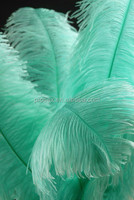 Artificial ostrich feathers wedding centerpieces