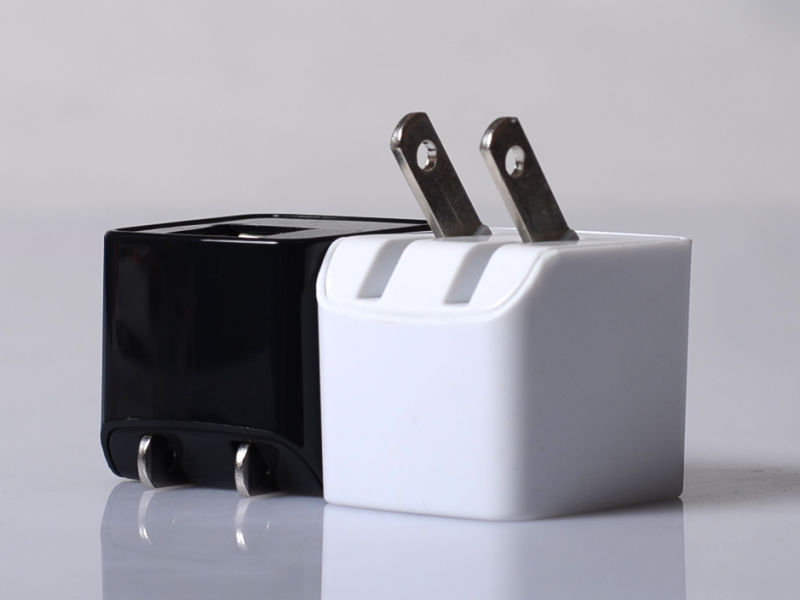 Modern Shape 5v custom usb mobile charger parts