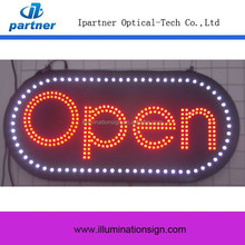 2015 New Product Hot Sale Oval Custom LED OPEN Neon Sign