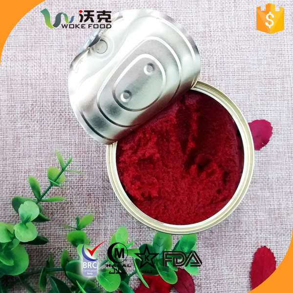 Factory wholesale brix 28-30% Canned Tomato Paste price with free sample