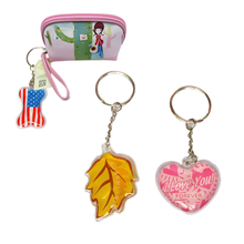 wholesale cheap liquid filled keychain