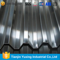 high rib coated roofing sheet
