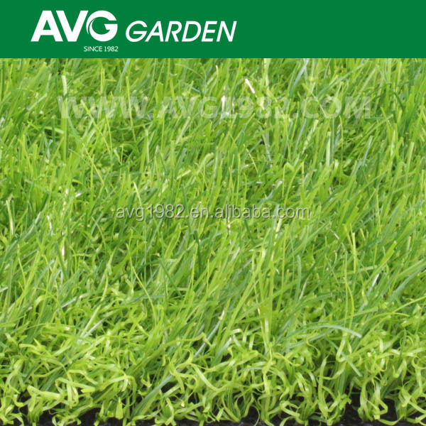2014 AVG new product mini diamond shape artificial grass for gardens
