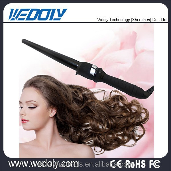 2015 Hot New Products Professional Rotating Styler Hair Curling Iron