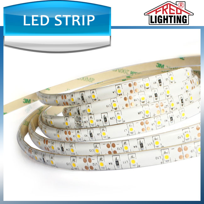dc24v smd 2835 10mm led strip light ribbon tape lamp 60leds with remote and power supply