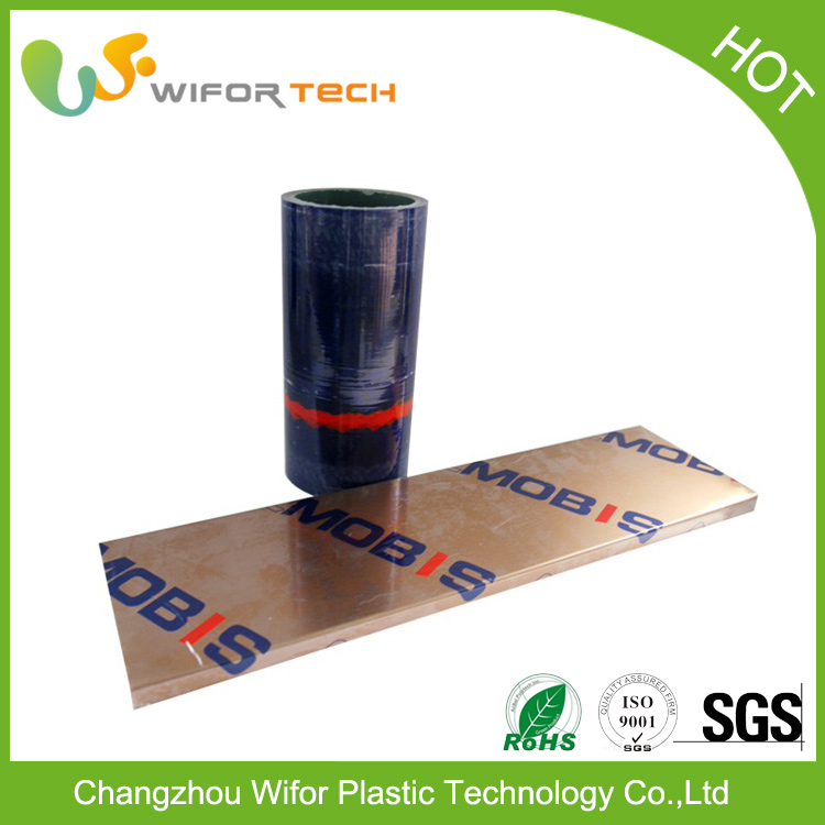 China Gold Supplier Translucent Vinyl Film