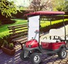 Power supply Golf Cart with Rain Cover Electric 4 seaters