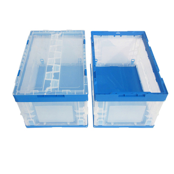 Cheap adjustable plastic folding storage boxes, foldable plastic container
