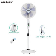 Home appliances 16 inch fan stand 12v dc fan remote control stand fan