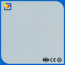 pvc laminated acoustic insulation gypsum board supplier
