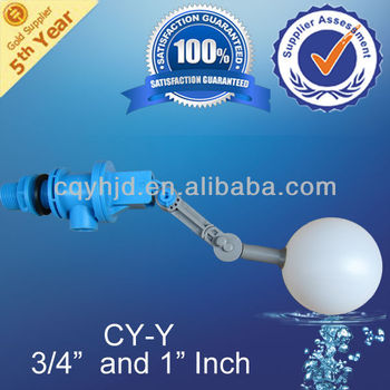 Floating Valve(Small Plastic Float Valve) With Adjustable Arm