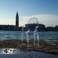 manufacturer best price designed by famous desginer popular crystal clear wedding chair
