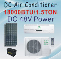 DC 48V air conditioner 18000BTU solar powered air conditioning DC-52GW