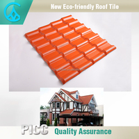 High Quality Best Prices Plastic Spanish Flat Roof Tiles