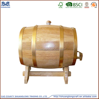 2015 made in china pine or oak used whiskey/wine barrels