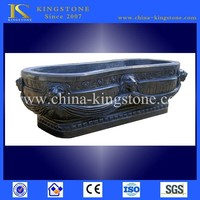 Low price solid surface stone bath tub in stock