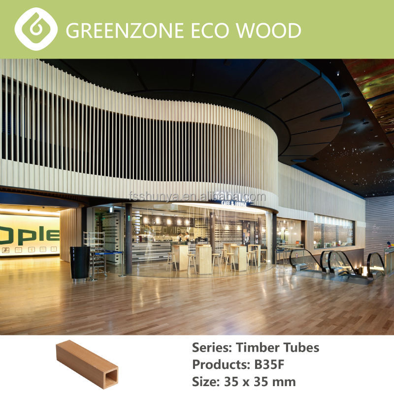 Foshan Greenzone Decorative Wpc Timber