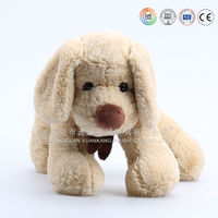 Custom cheap cartoon dog toy from dongguan toy factory sale to oversea