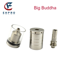 2014 new products E cig atomizer Ehpro big capacity stainless steel Big Buddha 26650 vs kraken rba atomizer