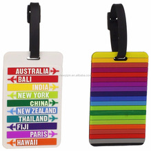 Kids Luggage Tags Accessories Girls Hand Suitcase Name Labels Bag Large Plastic in Travel, Luggage Accessories, Luggage Tags