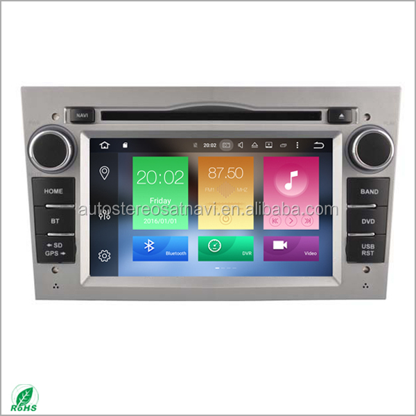 Android 8.0 car dvd for opel astra h car radio with gps navigation system