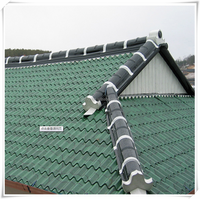 8.Sand Coated Metal Roof Shingles| Stone Coated Aluminum Roof Tile|Stone Coated Steel Roofing