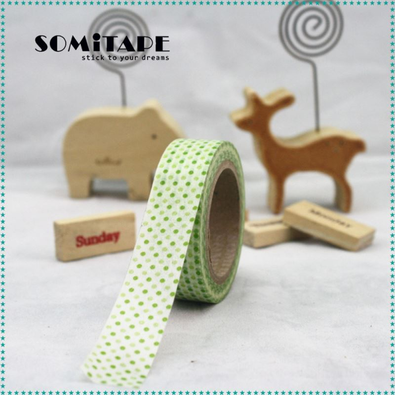 Acid-Free Water Based Glue Easy Peal Without Glue Washi Masking Tape For Cute Stationery Use