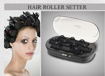 Factory supply beauty salon flocked rollers,soft surface double heater hair curling rollers
