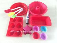 customize food grade platinum silicone bakeware