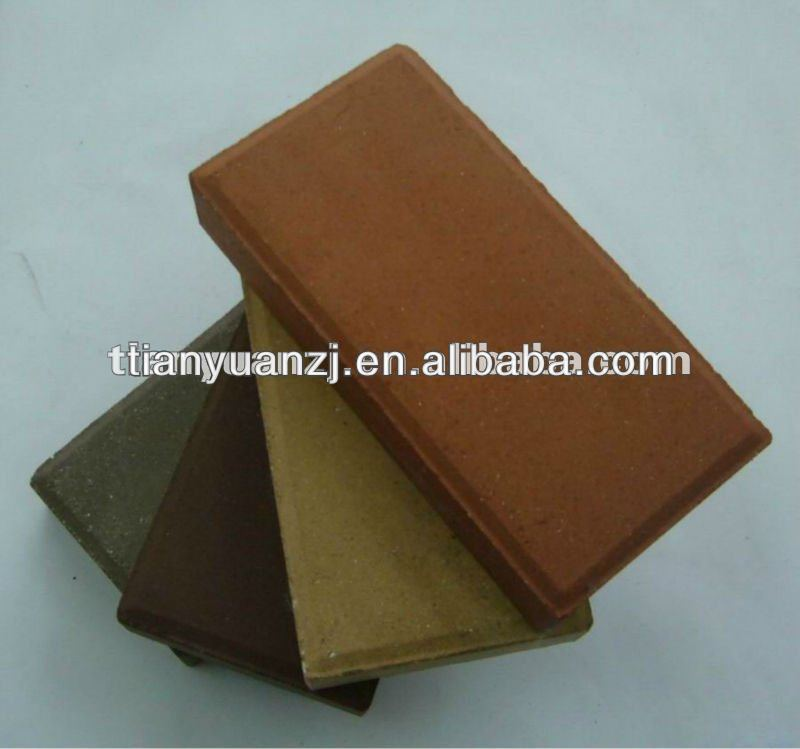 QTY12-15 cement paving brick -Tianyuan